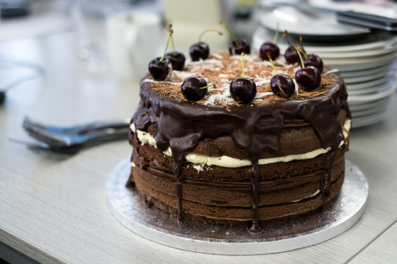 Making a Black Forest Showstopper